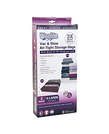 Woolite 2 Piece Air-Tight X-Large Vacuum Storage Bags