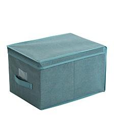 Simplify Large Storage Box in Dusty Blue