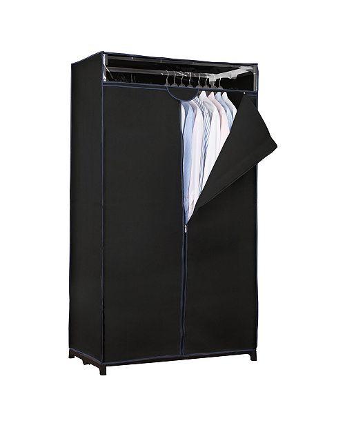 """Simplify 36"""" Wide Portable Closet in Black"""