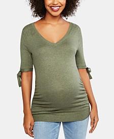 Elbow-Sleeve Sweater
