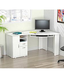 Inval America Corner Computer Desk