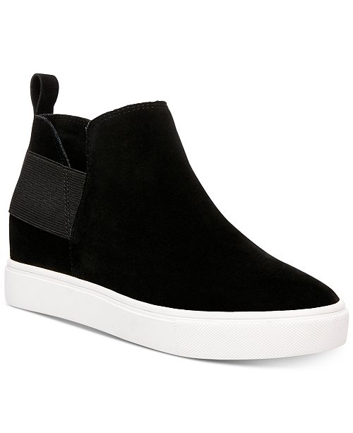667650d7f8e Steve Madden Women's Shane Wedge Sneakers & Reviews - Athletic Shoes ...