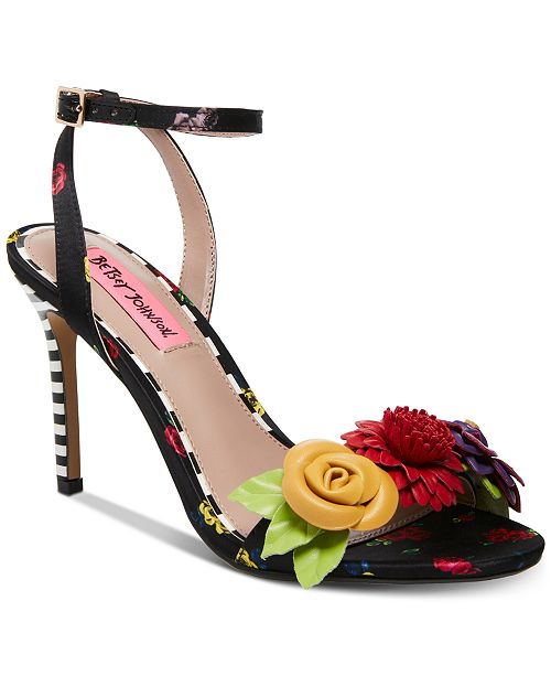 d72650eba0bf Betsey Johnson Fluer Dress Sandals & Reviews - Sandals & Flip ...