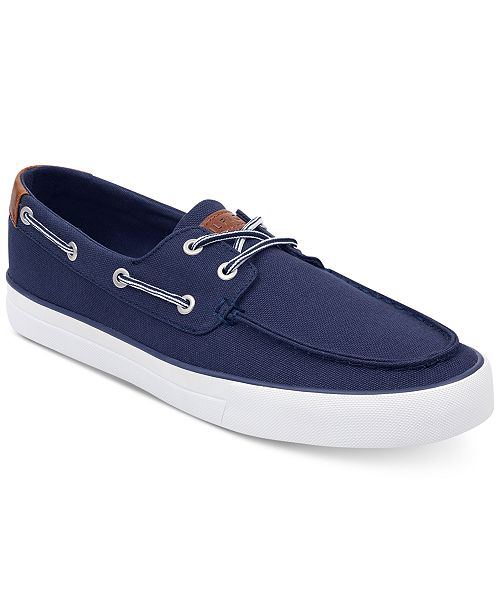 5e5738629ec7 Tommy Hilfiger Men s Petes Boat Shoes  Tommy Hilfiger Men s Petes Boat ...