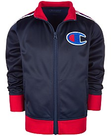 Champion Little Boys Logo Track Jacket