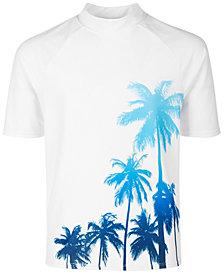 Ideology Big Boys Palm-Print Rash Guard, Created for Macy's