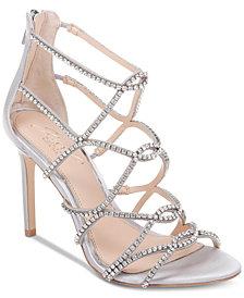 Jewel Badgley Mischka Delancey Evening Sandals