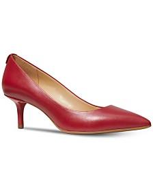 a658e1cb87a Michael Kors MK Flex Kitten Heel Pumps   Reviews - Pumps - Shoes ...