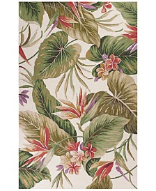 KAS Colonial Tropical Paradise 1737 Ivory Area Rug