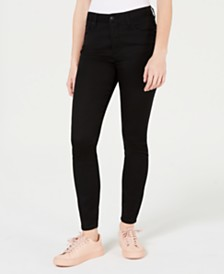 Tinseltown Juniors' Stretch Ankle Jeans