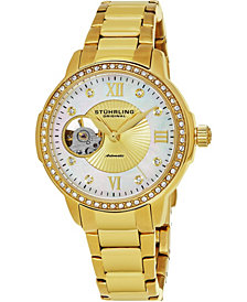 Stuhrling Original Women's Automatic Stainless Steel Bracelet Watch