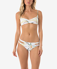 O'Neill Juniors' Bralette Bikini Top & Strappy Bottoms