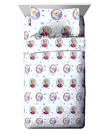 Frozen 3 Piece Twin Sheet Set