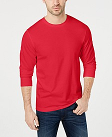 Men's Long Sleeve Crew-Neck T-Shirt, Created for Macy's
