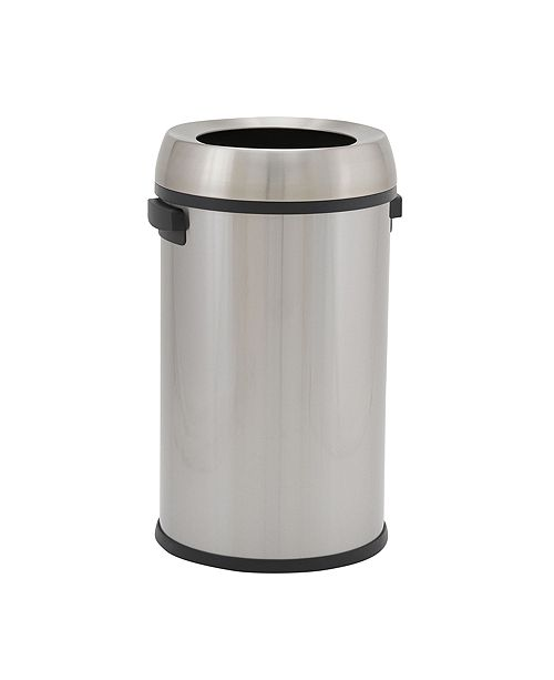 Household Essentials Stainless Steel 65L Tahoe Commercial Round Bin