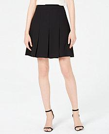 Anne Klein Short Pleated Skirt