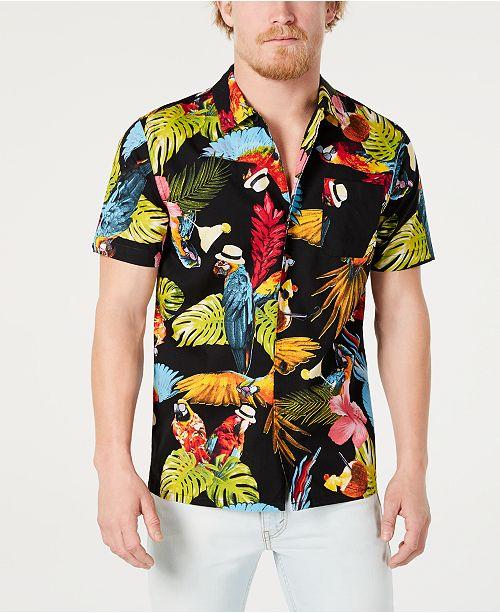 Levi's Men's Parrot Party Shirt