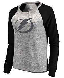 Majestic Women's Tampa Bay Lightning Cozy Crew Neck Sweatshirt