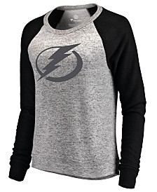 Majestic Women's Tampa Bay Lightning Cozy Crew Neck Sweatshirt