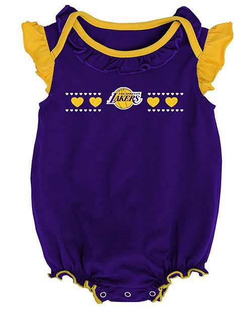 86169194b64f Outerstuff Los Angeles Lakers Creepers 2 Pack Set