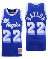 817bde19d Mitchell   Ness Men s Elgin Baylor Los Angeles Lakers Hardwood Classic  Swingman Jersey