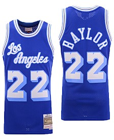 Mitchell & Ness Men's Elgin Baylor Los Angeles Lakers Hardwood Classic Swingman Jersey