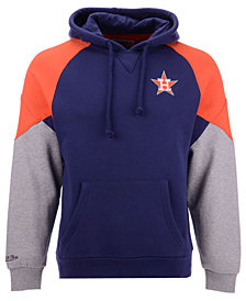 Mitchell & Ness Men's Houston Astros Trading Block Hoodie
