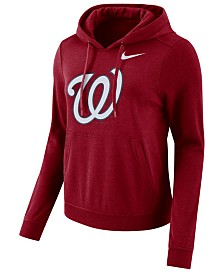 Nike Women's Washington Nationals Club Pullover Hoodie