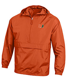 Champion Men's Miami Hurricanes Packable Jacket