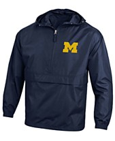 ddbe549c7 Champion Men s Michigan Wolverines Packable Jacket