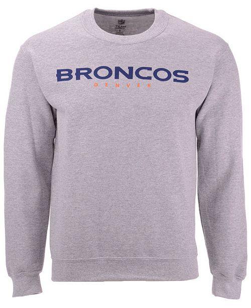 low priced 53816 21ae5 Men's Denver Broncos Gunslinger Crew Neck Sweatshirt