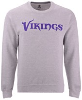 Authentic NFL Apparel Men s Minnesota Vikings Gunslinger Crew Neck  Sweatshirt 51de6c784
