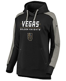 Authentic NHL Apparel Women's Vegas Golden Knights Iconic Color Block Hoodie