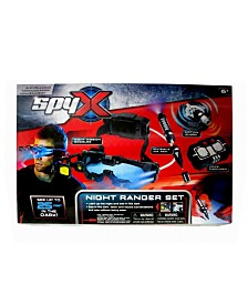 Mukikim - Spyx Night Ranger Set With Night Mission Goggles, Motion Alarm, Voice Disguiser And Invisible Ink Pen