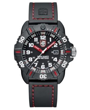 Men's 3035 Cornado Red/ Black Rubber Strap Watch