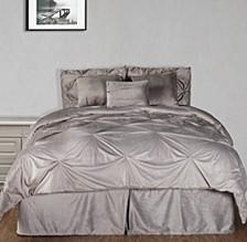 Pintuck Plush 7-PC Complete Comforter Set