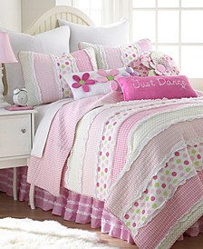 Home Marley Ruche Twin Quilt Set