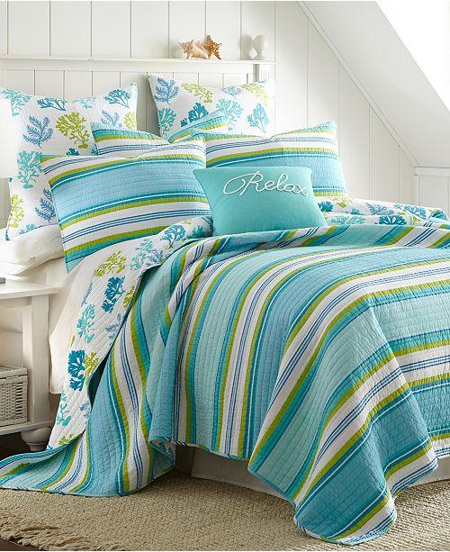 Levtex Home Cozumel Twin Quilt Set