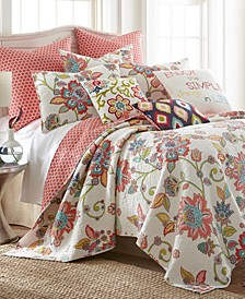 Home Clementine Spring Twin Quilt Set