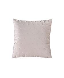 Home Spruce Coral Blush Velvet Pillow