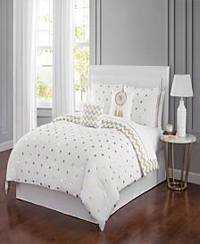Dottie 6 Piece Comforter Set King