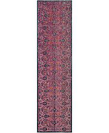 "Safavieh Artisan Fuchsia and Multi 2'2"" x 8' Area Rug"