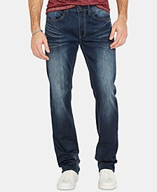 Men's Driven-X Relaxed Straight Fit Washed Jeans