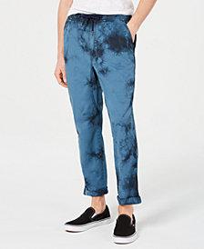 American Rag Men's Cuffed Tie Dye Chino Pants, Created for Macy's