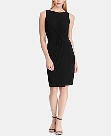 Lauren Ralph Lauren Ruched Jersey Dress