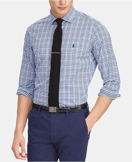 23509d0a292eb Polo Ralph Lauren Men s Classic-Fit Performance Shirt   Reviews ...