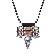 Steve Madden Geo-Drop Chain Necklace