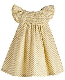 First Impressions Baby Girls Butterfly Dress, Created for Macy's