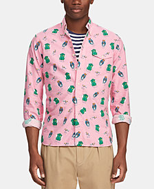 Polo Ralph Lauren Men's Classic-Fit Bear Shirt