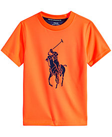 Polo Ralph Lauren Big Boys Logo-Print T-Shirt